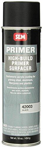 Build Primer (SEM 42003 Black High Build Primer - 16 oz.)