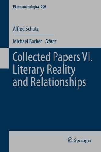 Collected Papers VI. Literary Reality and Relationships: 206 (Phaenomenologica) Pdf