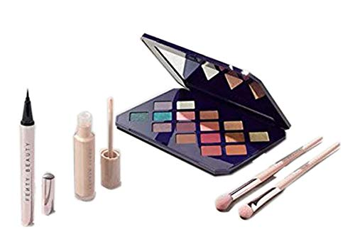 Fenty Beauty by Rihanna Moroccan Spice Collection Set! 5 Pieces Eye Essentials Collection! Eye Primer, Eyeshadow Palette, Liquid Eyeliner, Eyeshadow Brush 200 and Blending Brush 210! by Fenty Beauty by Rihanna (Image #3)