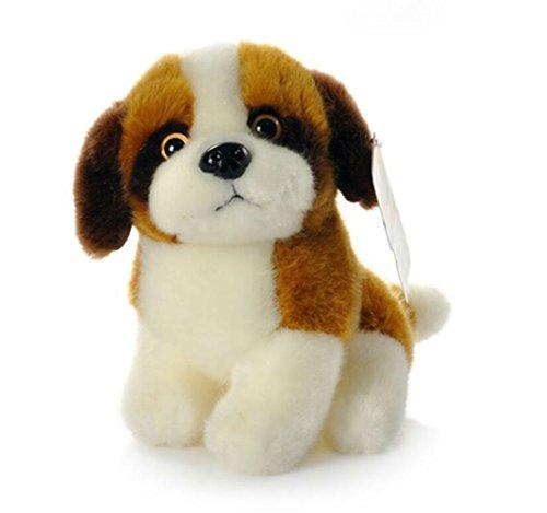 imulation Saint Bernard Dog Plush Toy Plush Stuffed Toys ()