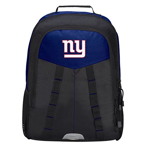 Officially Licensed NFL New York Giants Scorcher Sports Backpack, Blue