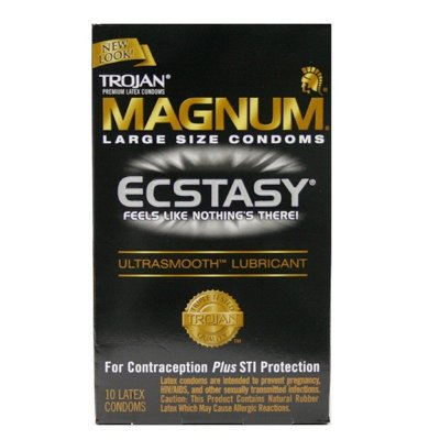 (Trojan Magnum Ecstasy Ultrasmooth: 30-Pack of Condoms)