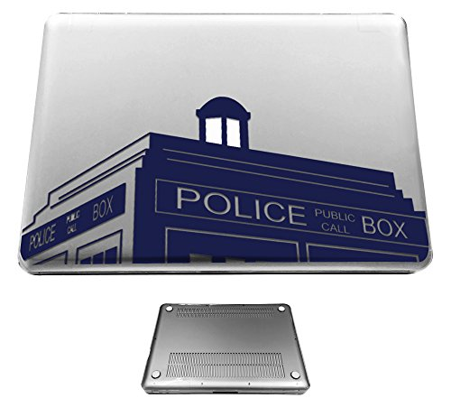 Police Design - c0023 - Doctor Who Tardis Police Call Box Design Macbook Air 11.6'' (2012-2015) Fashion Trend CASE Full COVER Front And Back Full Protective Cover Case