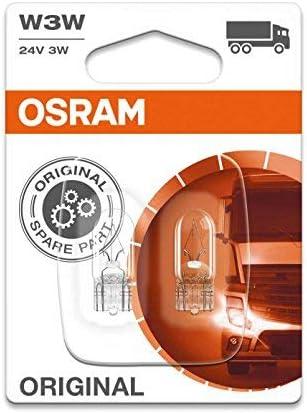 Osram Original W3w Sonderlampe 2841 02b 24v Doppelblister Auto