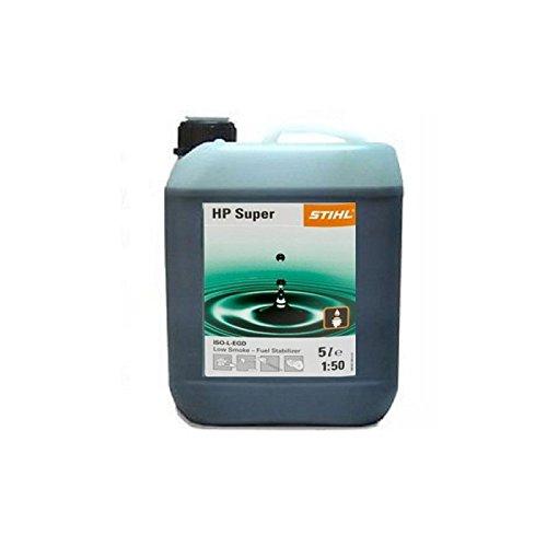 Stihl HP Super Semi Synthetic 2 Stroke Oil 5 Litre Bottle Part No.0781 319 8055 Genuine UK Supplied Part