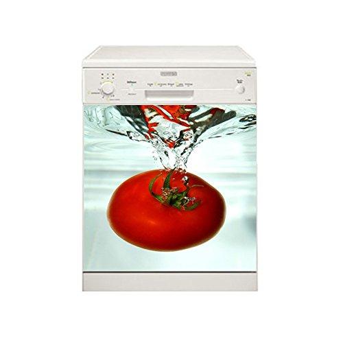 TATOUTEX Stickers lavavajillas Tomate, L 50cm x H 50cm: Amazon.es ...