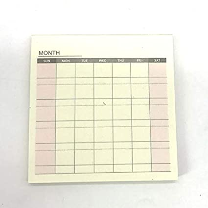 Amazon.com : Weekly Month Planner Notebook Small Agenda ...