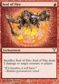 - Magic: the Gathering - Seal of Fire - Dissension