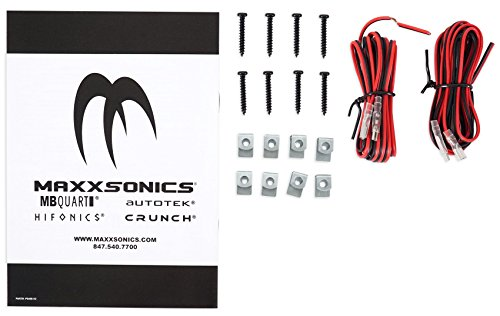 Digital Media Receiver/Radio+Front Speakers+Wire Kits For 87-95 JEEP WRANGLER YJ by Rockville (Image #2)