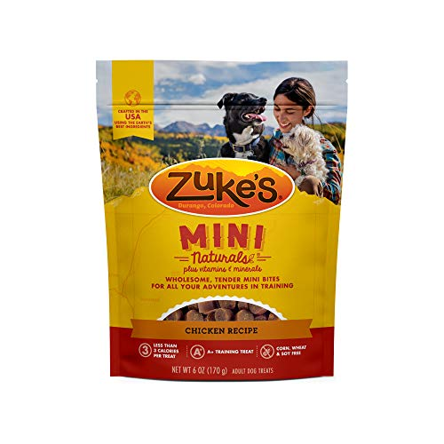 Zuke's Natural Training Dog Treats; Mini Naturals...