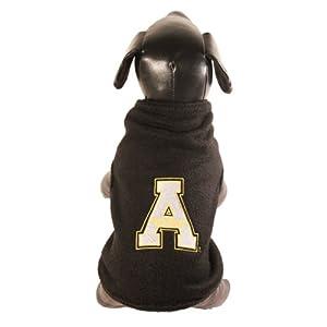 All Star Dogs NCAA Appalachian State Mountaineers Polar Fleece Dog Sweatshirt, X-Small
