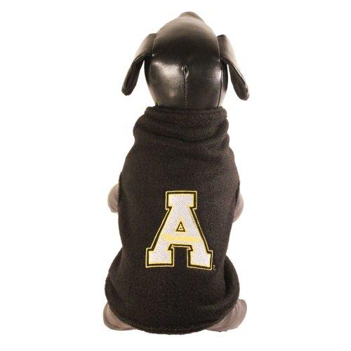 All Star Dogs NCAA Appalachian State Mountaineers Polar Fleece Dog Sweatshirt, (Appalachian State Fleece)