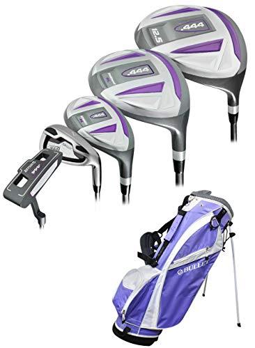 Bullet Golf- LH Ladies .444 Complete Set with Bag Lavender (Left Handed)