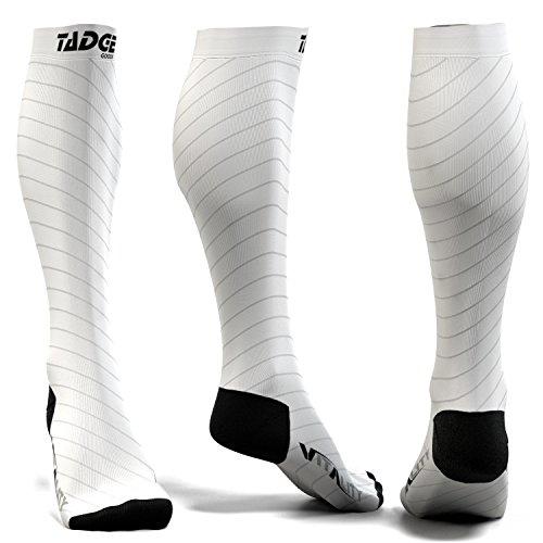 - Compression Socks for Men & Women (20-30 mmhg) - Best Graduated Pressure Stocking, Support Circulation Socks | Athletic Fit For Running, Nurses, Shin Splints, Maternity Pregnancy, Flight Travel
