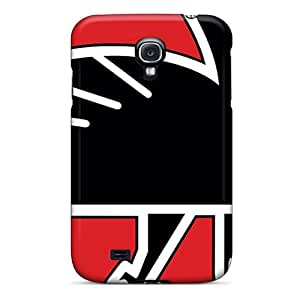 Protective Hard Phone Cover For Samsung Galaxy S4 (WSN15096Dwvt) Custom Lifelike Atlanta Falcons Pictures