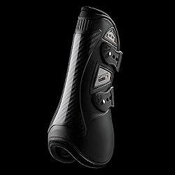 VEREDUS Carbon Gel Open Front Boots Medium Black