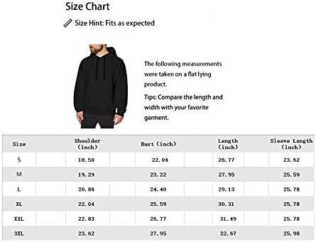 MichaelWare Mens Kevin Gates Hoodie Sweatshirt Casual Slim Fit Pullover Drawstring Long Sleeve Lightweight