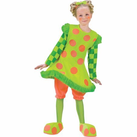 Clown Lolli Costumes (Lolli the Clown Child Girl Halloween Costume)