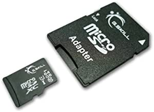 128GB G.Skill microSDXC CL10 UHS-1 Memory Card with SD Adapter