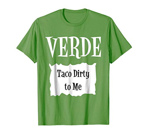 VERDE - Hot Packet Halloween Taco Costume