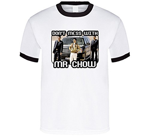(Mr Chow Funny Hangover Movie T Shirt M Black)