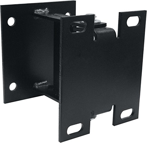 Coxreels 15720 Steel Vertical Surface Mounting Swing Bracket for Spring Driven Reels, Black