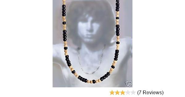 3ed3d61ea6225 Amazon.com: Jim Morrison Bead Necklace: Pendant Necklaces: Jewelry