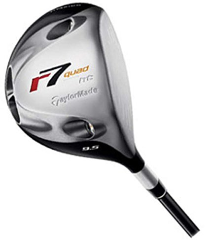 Taylormade R7 Quad - TaylorMade R7 Quad HT Driver 10.5 Aldila NVS 65 Graphite Regular Right Handed 45.25 in