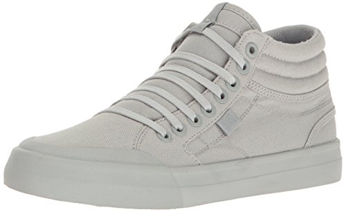 DC Womens Evan Hi TX Skateboarding Shoe Grey