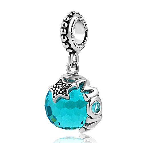 Heart of Charms Mom Charms Murano Glass Ball Stopper Beads Bracelets For Mother's Day