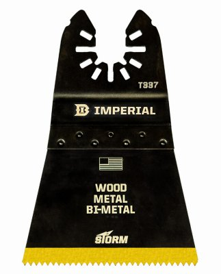 Imperial Blades IBOAT337-1 Oscillating Tool Blade, Wood With Nails, Bi-Metal, 2.5-In. - Quantity 25