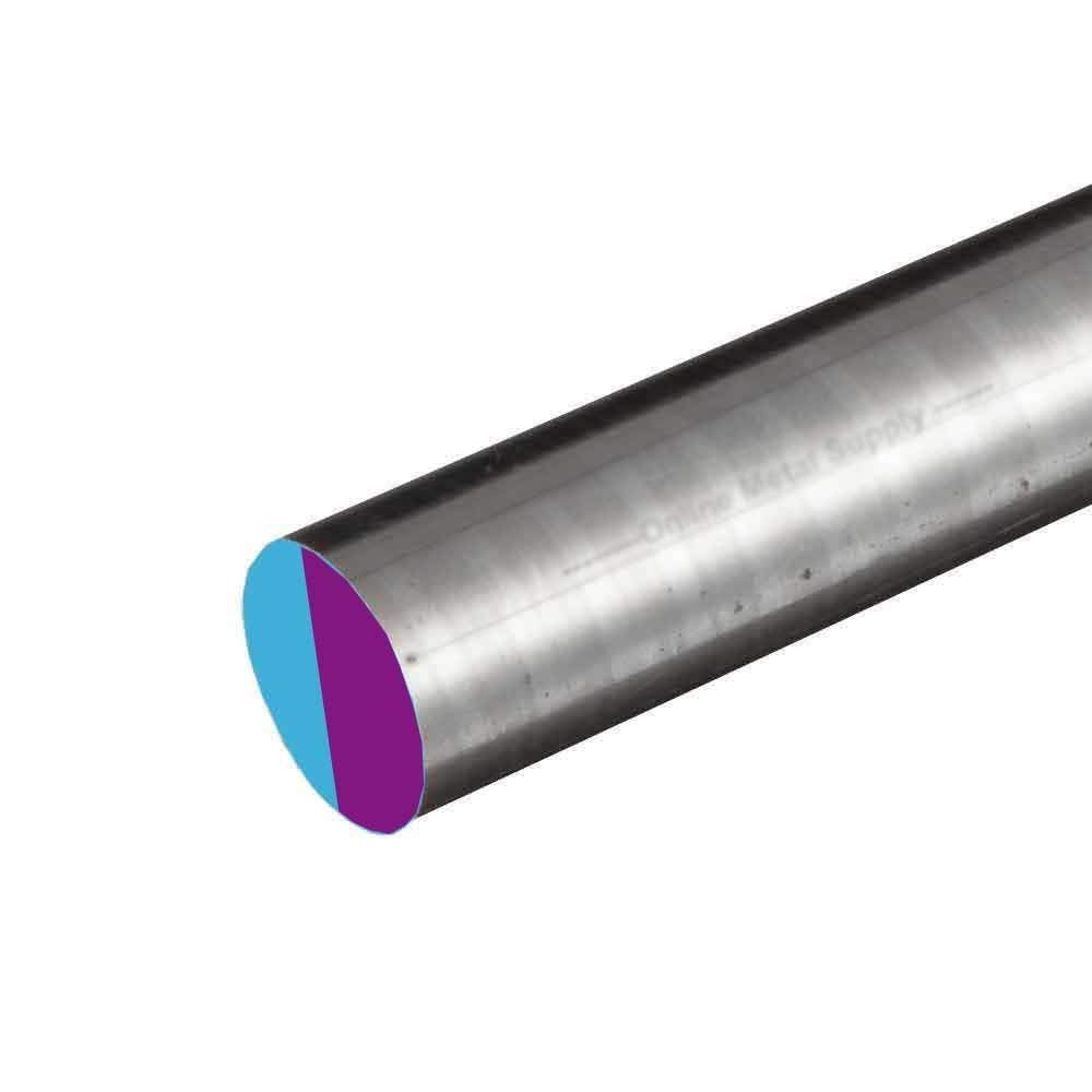 Online Metal Supply 8620 CF Alloy Steel Round Rod, 0.812 (13/16 inch) x 12 inches by Online Metal Supply