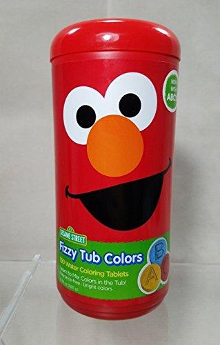 Sesame Street Fizzy Color Tablets
