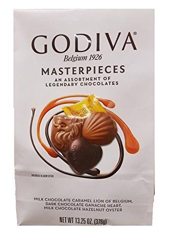 Masterpieces Milk Chocolate CARAMEL LION of Belgium 14.6 oz (Godiva Caramel Milk Chocolate)
