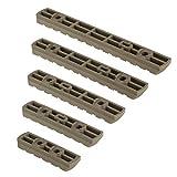 Aecktech Polymer Compatible Mloks Picatinny Rail