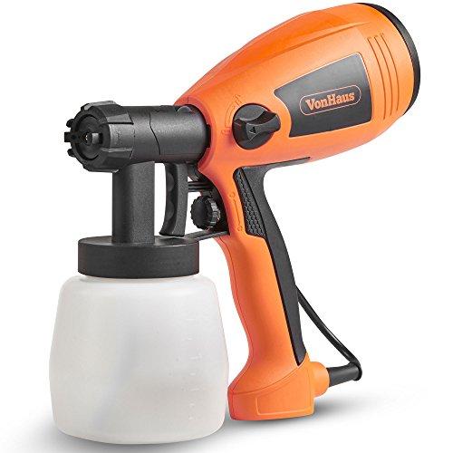 VonHaus 400W Paint Sprayer - Spray Gun for Fencing, Ceilings, Walls, Floors &...