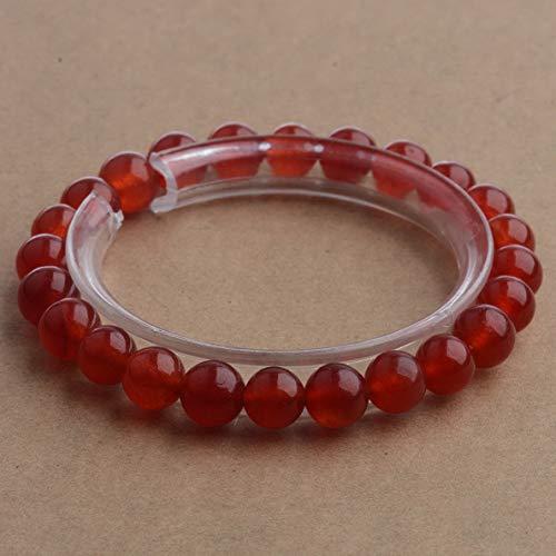 Mikash Charm Mixed Natural Gemstone Round Bead Bracelets Bangle Healing Reiki   Model BRCLT - 6880   6MM]()