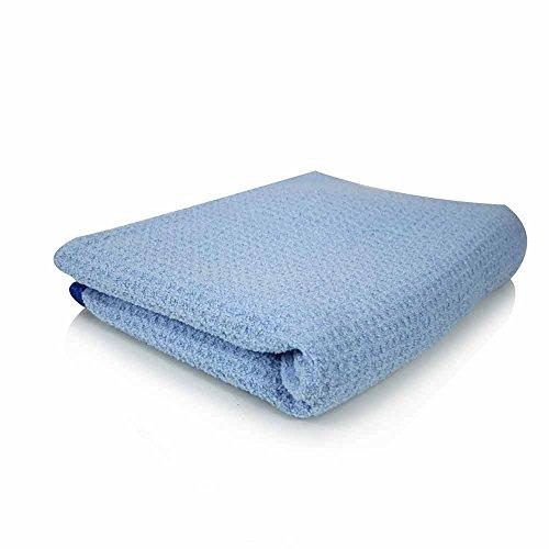 Waffle Weave Microfiber (Chemical Guys MIC_703S_01 Waffle Weave Drying Towel (Blue 26