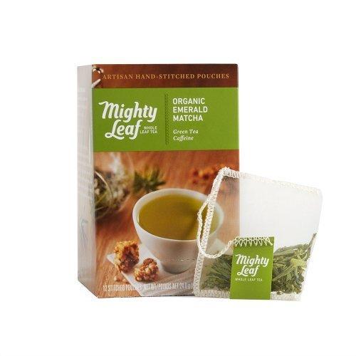 Mighty Leaf Organic Emerald Matcha Tea, 15 Tea Pouches