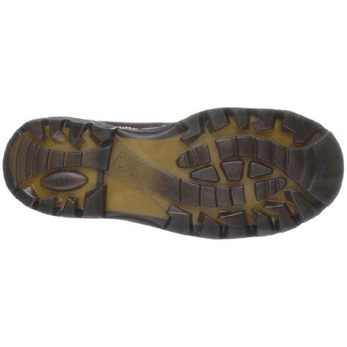 Dr. Martens Gunby Steel Toe Shoe Teak gF4SNySimV