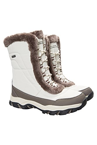 Ideali Stivali Doposci Beige Impermeabili per Ohio Neve Mountain Invernali Warehouse da e Caldi Donna e zfHZq