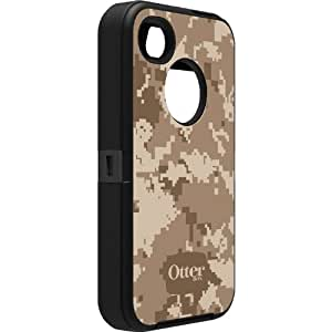 OtterBox Defender Series Case and Holster for iPhone 4/4S - Retail Packaging - Graphics Digi Desert (Discontinued by Manufacturer)