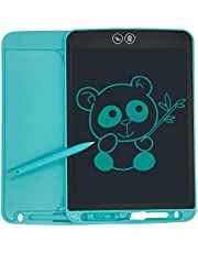 HaoBon 9.7 inch LCD Writing Tablet Partial Erase Daily Planner Drawing Doodle Pad Fridge Memo Board Educational Toys Special New Year Gift for Kids Adults (Blue)