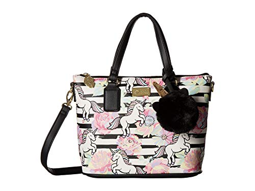 Luv Betsey Women's Tammie Mini Satchel Animal Print One Size ()