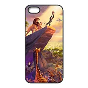Lion King iPhone 5 5s Black Cell Phone Case GSZWLW0160 Cell Phone Case Fashion