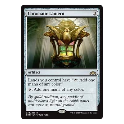 Magic The Gathering - Chromatic Lantern (233/259) - Guilds of Ravnica: Toys & Games