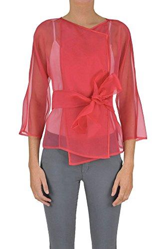 Armani Collezioni Jackets - Armani Collezioni Women's Mcglcsg03064e Red Silk Jacket