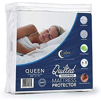 Amazon Com Calm Nite Waterproof Quilted Mattress