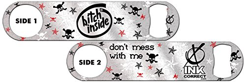 Killer Inked Bottle Opener: Bitch Inside - Silver