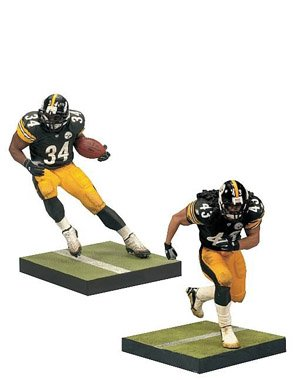 Troy Polamalu Game (McFarlane Toys NFL Sports Picks Action Figure 2Pack Rashard Mendenhall Troy Polamalu (Pittsburgh Steelers))